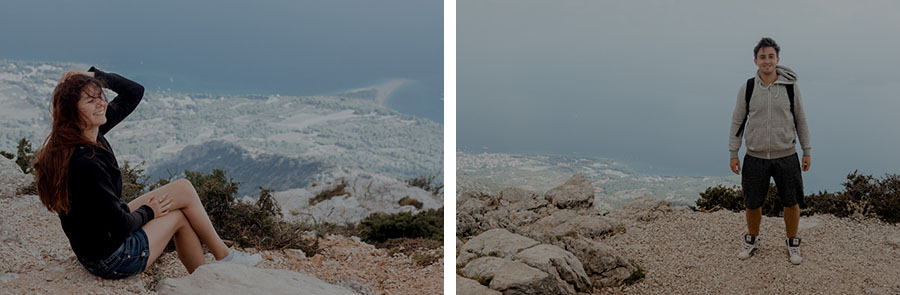 góry w Chorwacji, wyspa Brač
