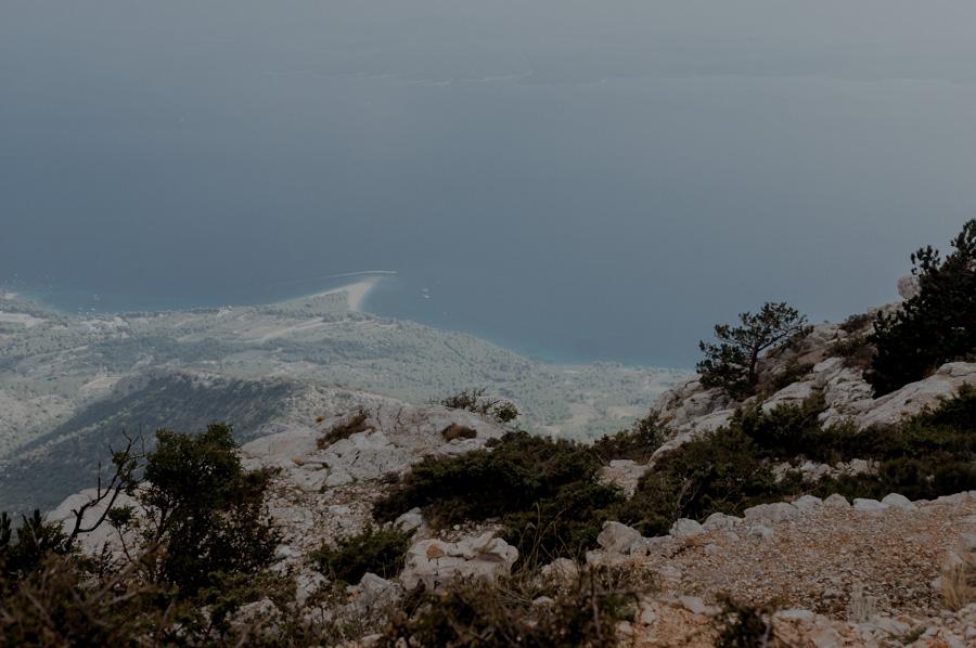 Vidova Gora, widok na Bol