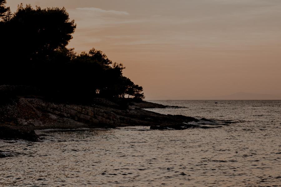 the bay behind Uvala Likva, Sutivan