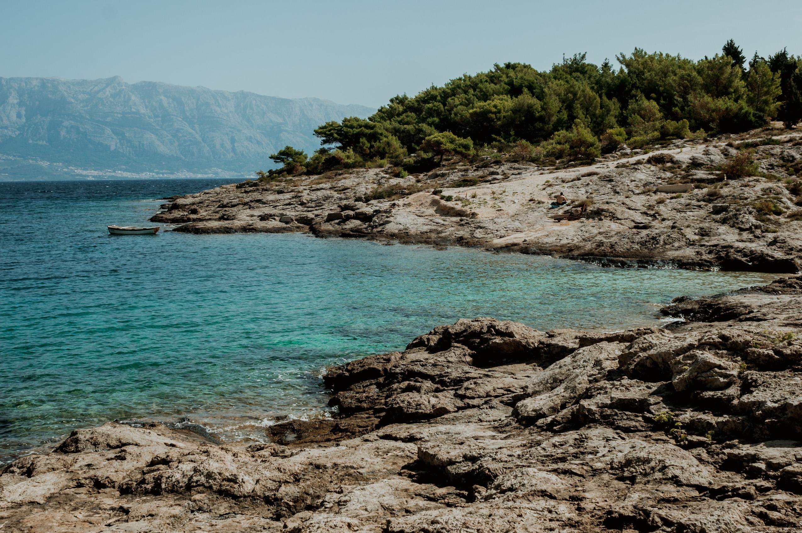 Chorwacja, wyspa Brač, dzień 5- Sumartin, Bol i Zlatni Rat, Murvica