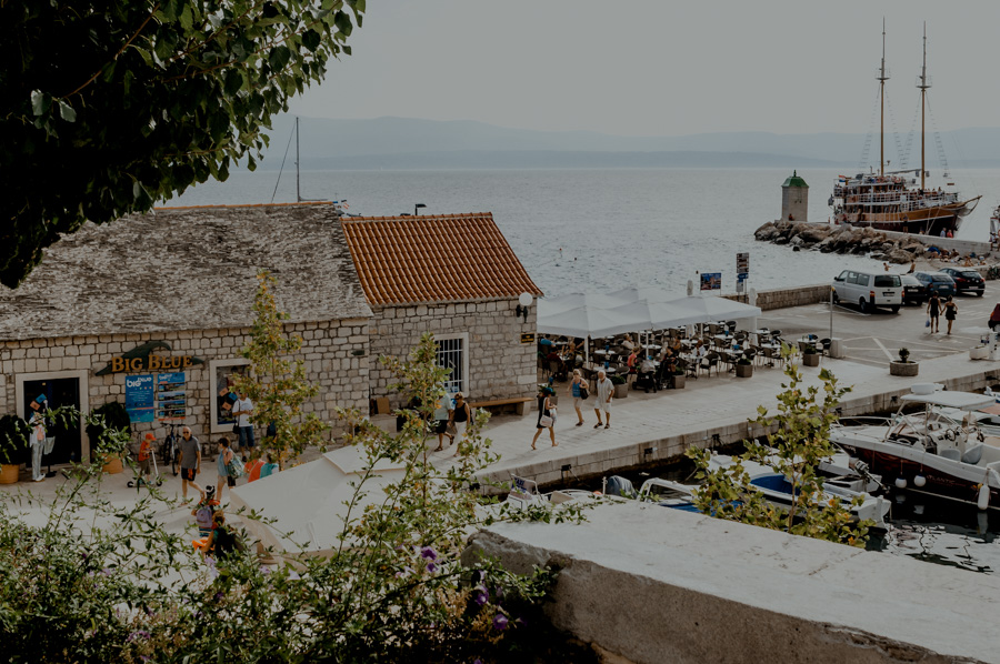 miejsca widokowe, wyspa Brač, Bol