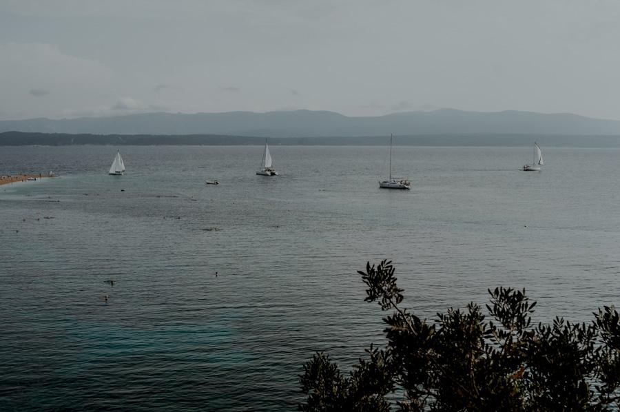 Brač island, plaża Zlatni Rat