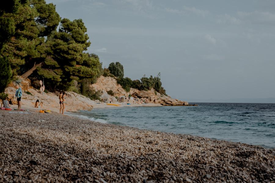 Murvica- plaża kamienista