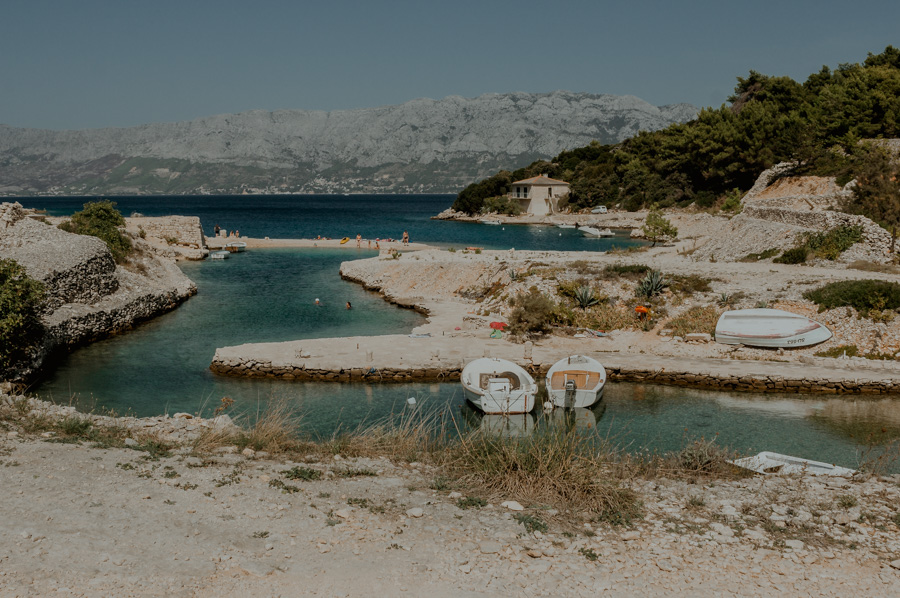 the most beautiful places, Ticja Luka bay