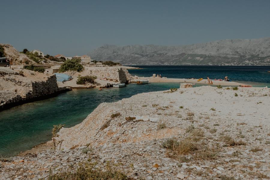 Povlja, a place for sunbathing