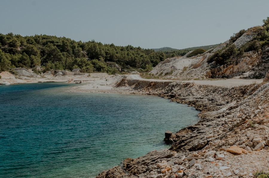 view of the Ticja Luka bay