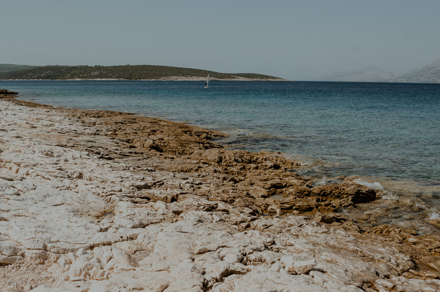 Povlja coast of the Adriatic Sea