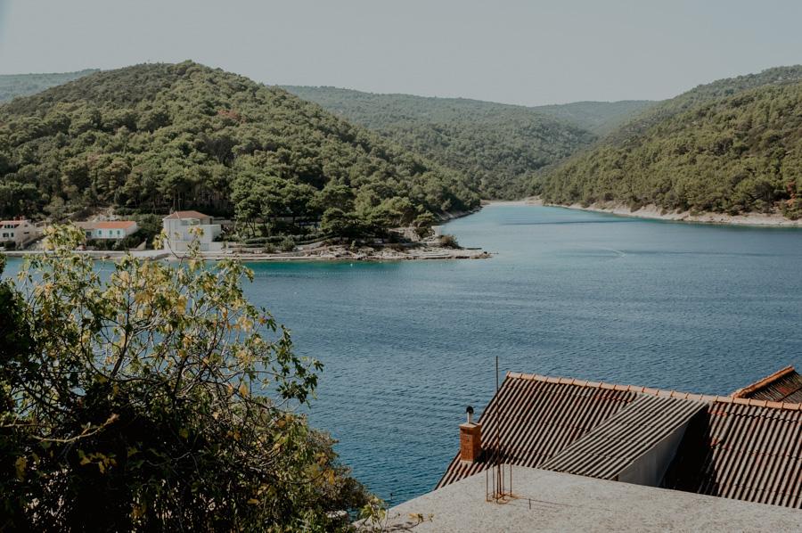 bays on the island of Brač, Croatia