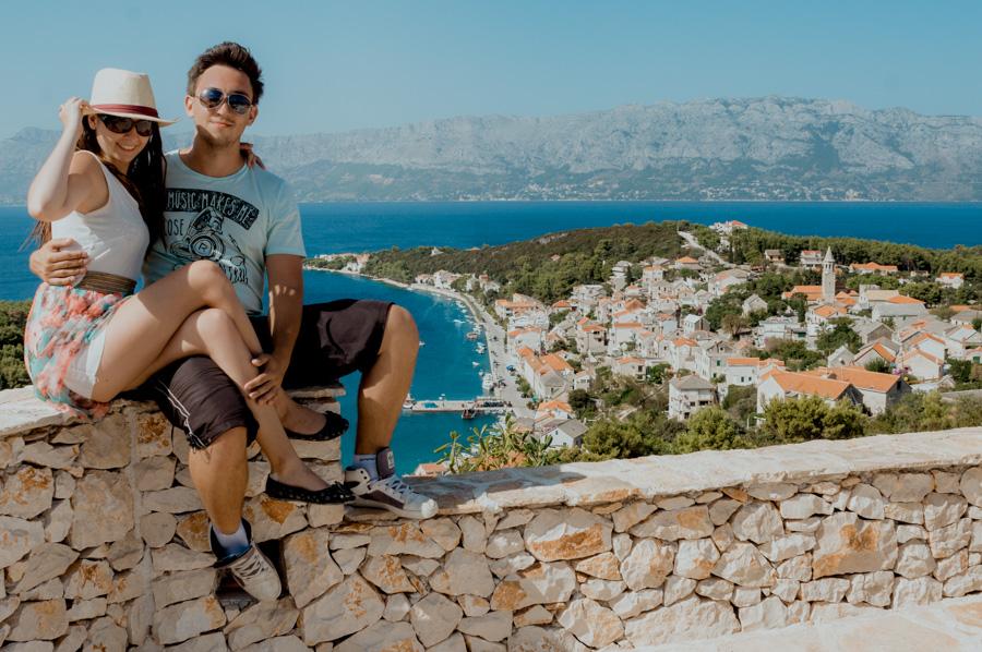 shooting on vacation, Croatia