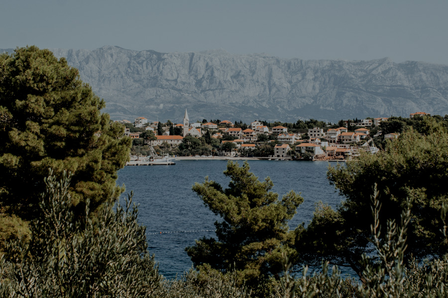 view - Sumartin and Makarska