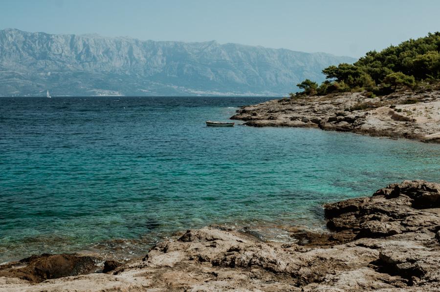 Brač, zatoka Sv. Rok, Chorwacja