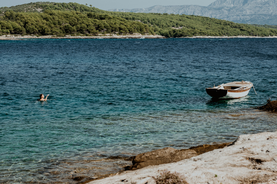 the most beautiful bays on the Brač island
