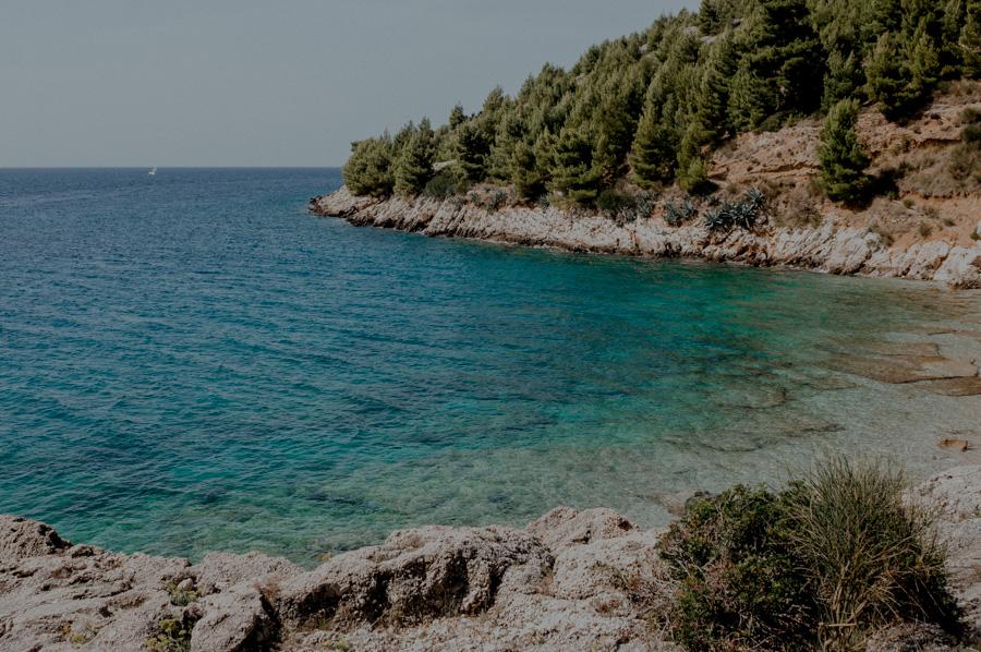places for sunbathing, Croatia