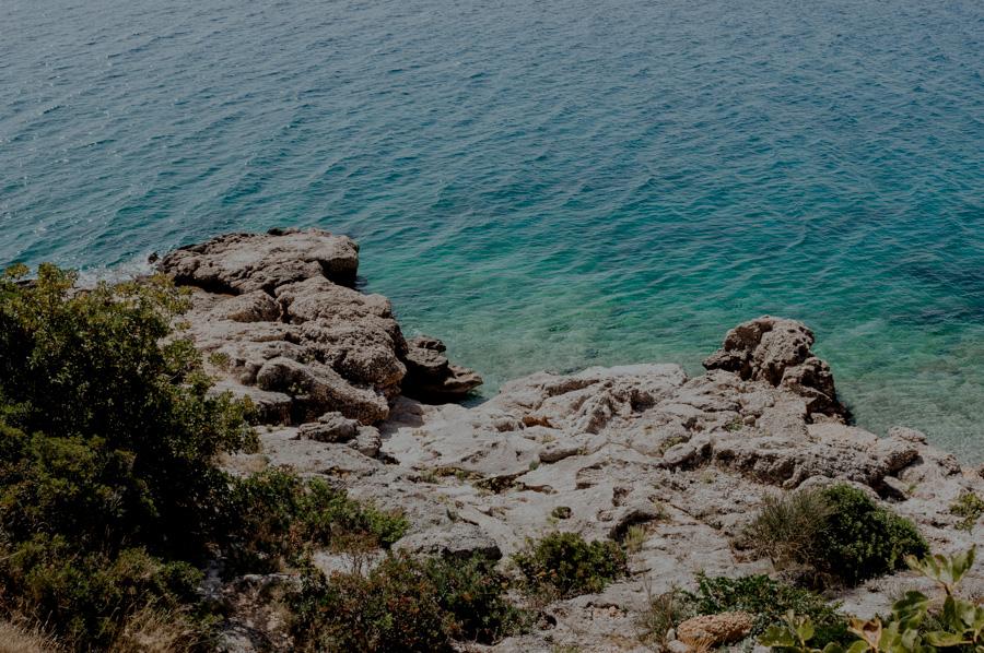 unknown beaches on the island, Croatia