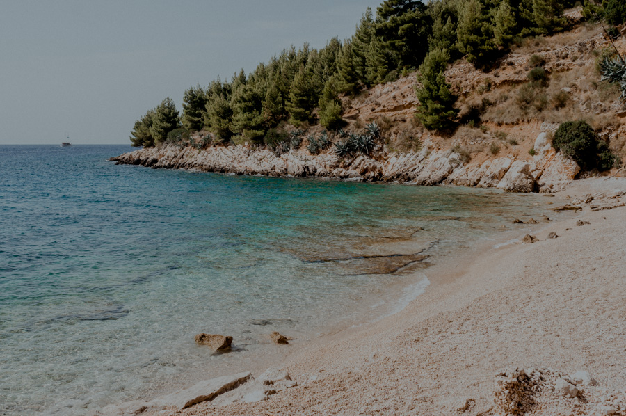 Brač, bay of Mali Zagradac