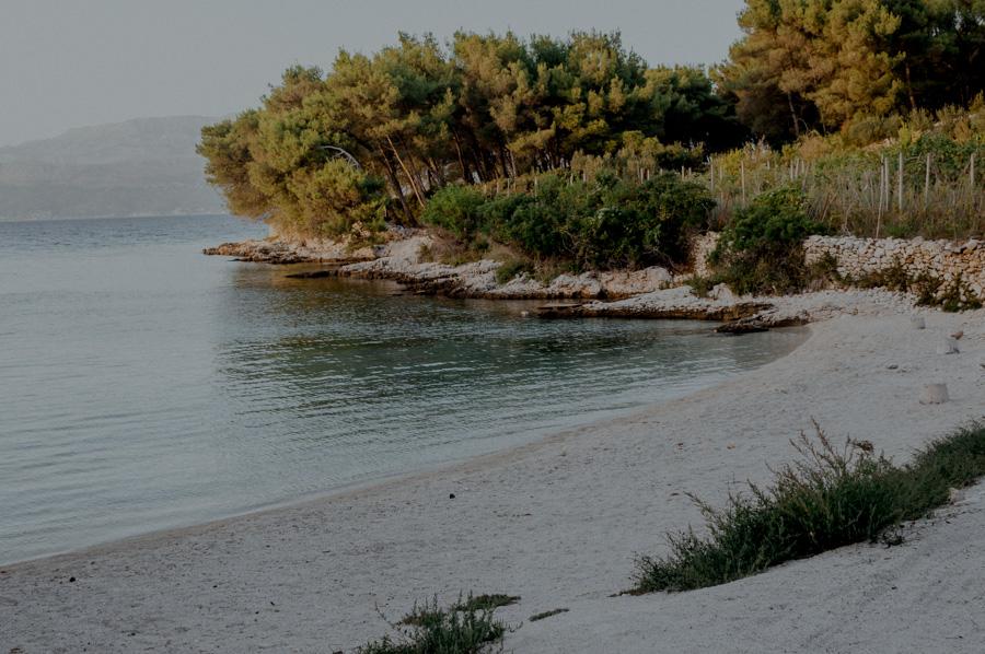 little known bays, Brač island