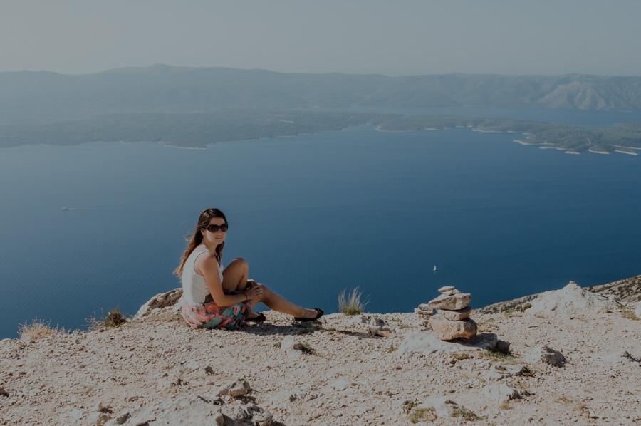 Vidova Gora- widok na Hvar
