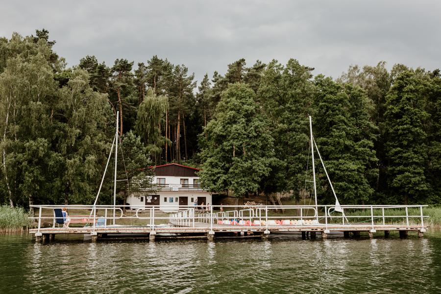 Dąbrowa Wielka, jezioro na Mazurach