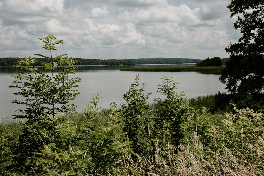 jezioro Dąbrowa Wielka, Dąbrówno