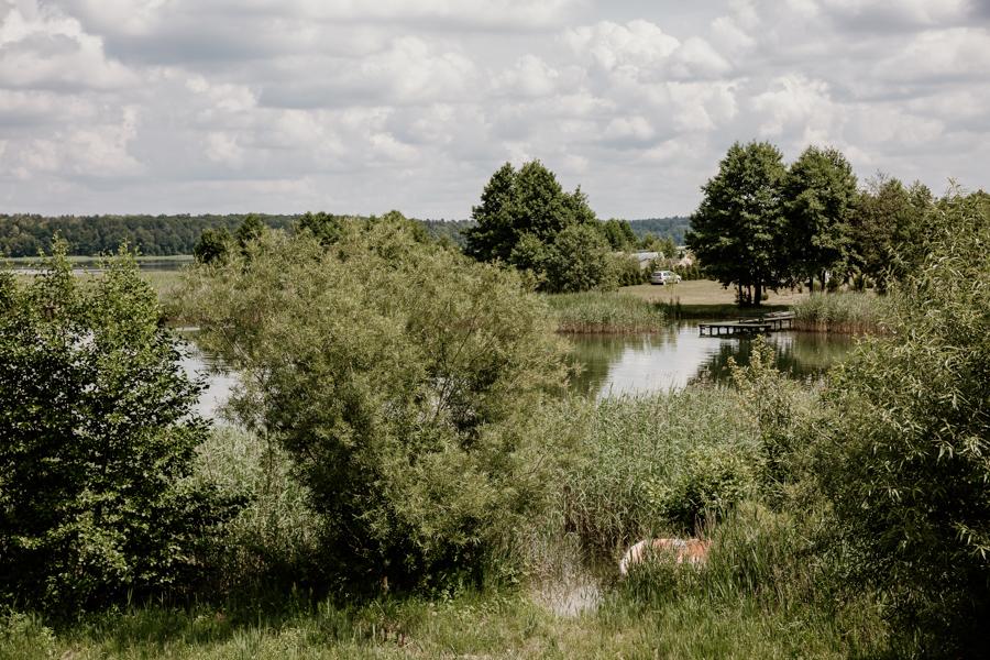 Dąbrówno, jezioro