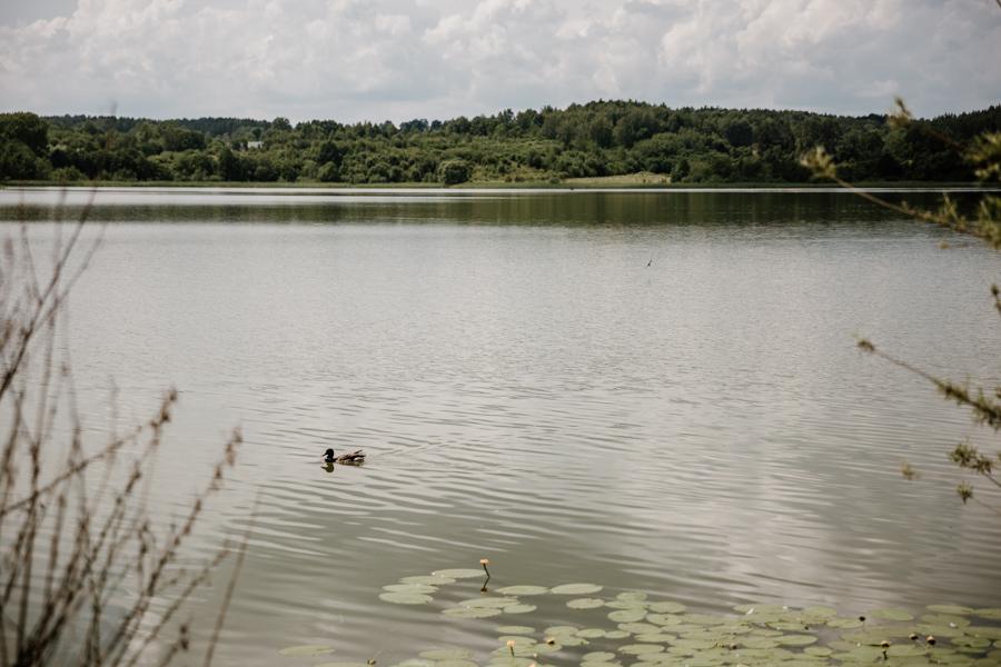 jezioro Dąbrowa Mała, Dąbrówno