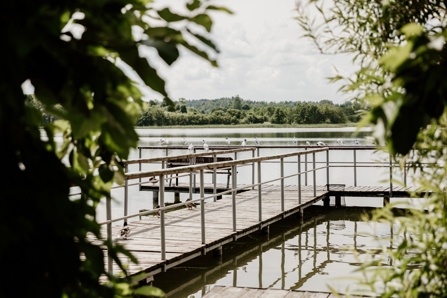 the most interesting places in the area of ​​Olsztyn - Dąbrowa Mała lake