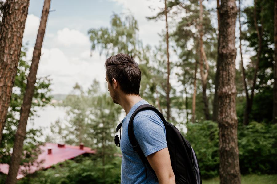 jezioro Dąbrowa Wielka- wypoczynek