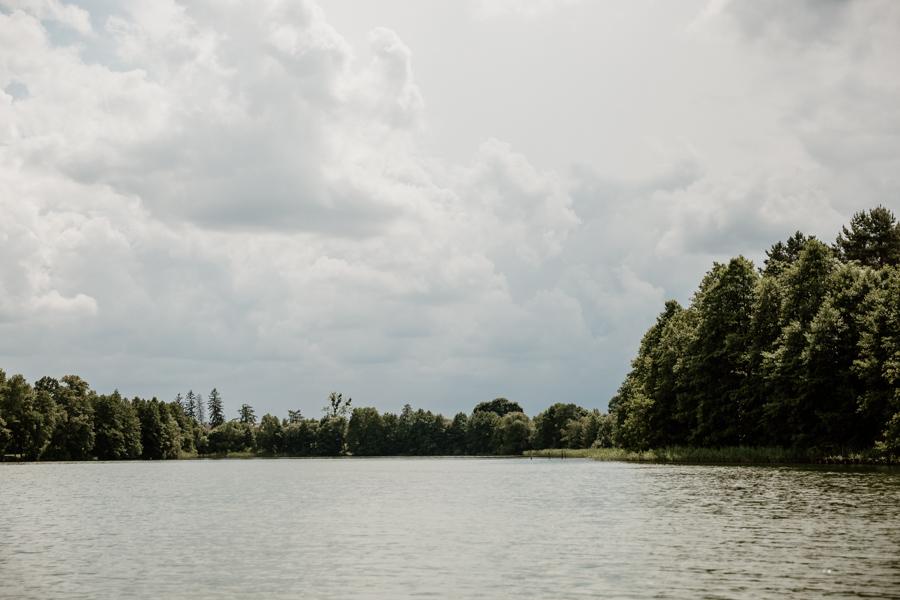 Dąbrowa Wielka- jeziora na Mazurach