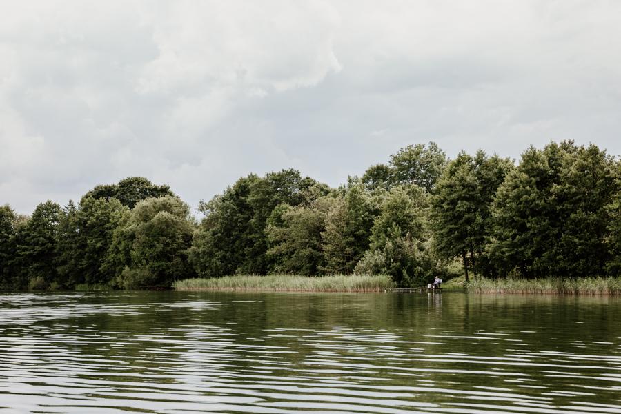 Kalbornia, jezioro Dąbrowa Wielka