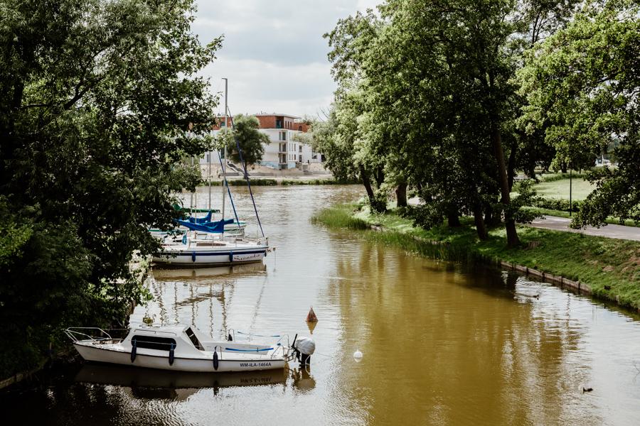 Iława- Iławka river