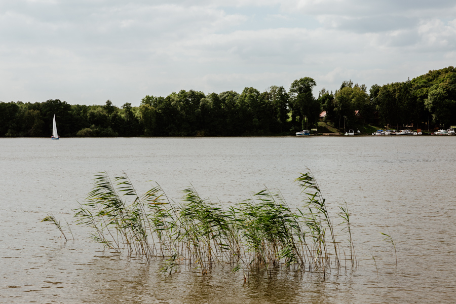 Jeziorak lake in Warmia and Mazury