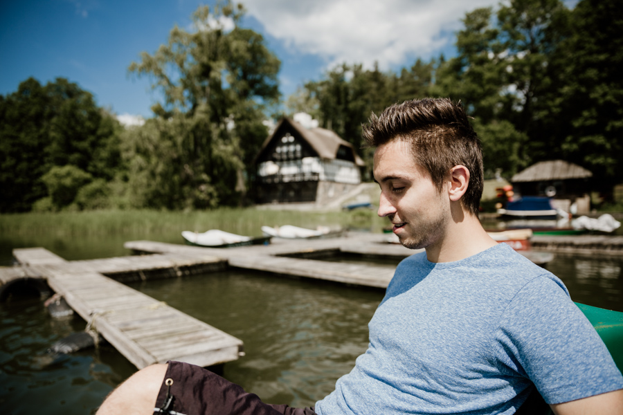 Łańskie lake trip