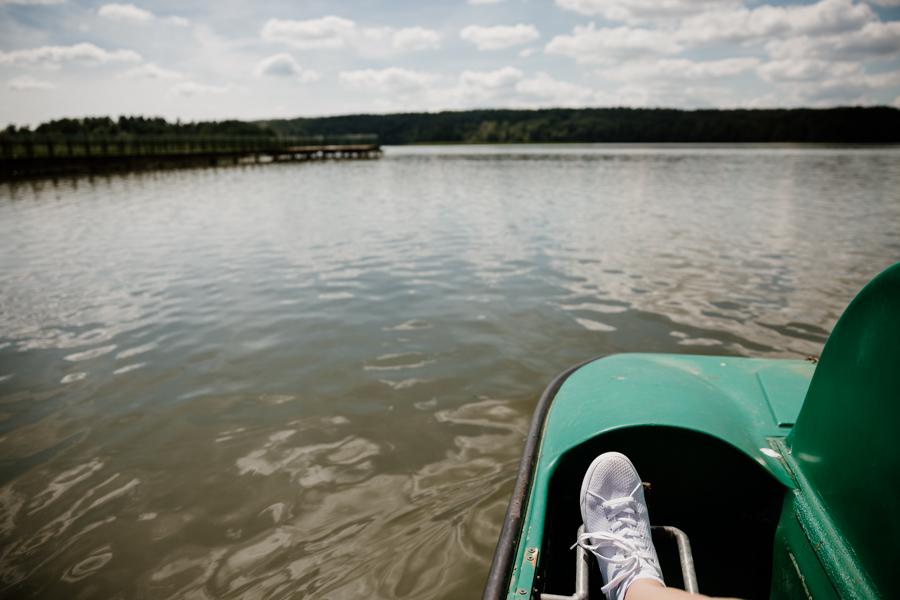water bikes near Olsztyn