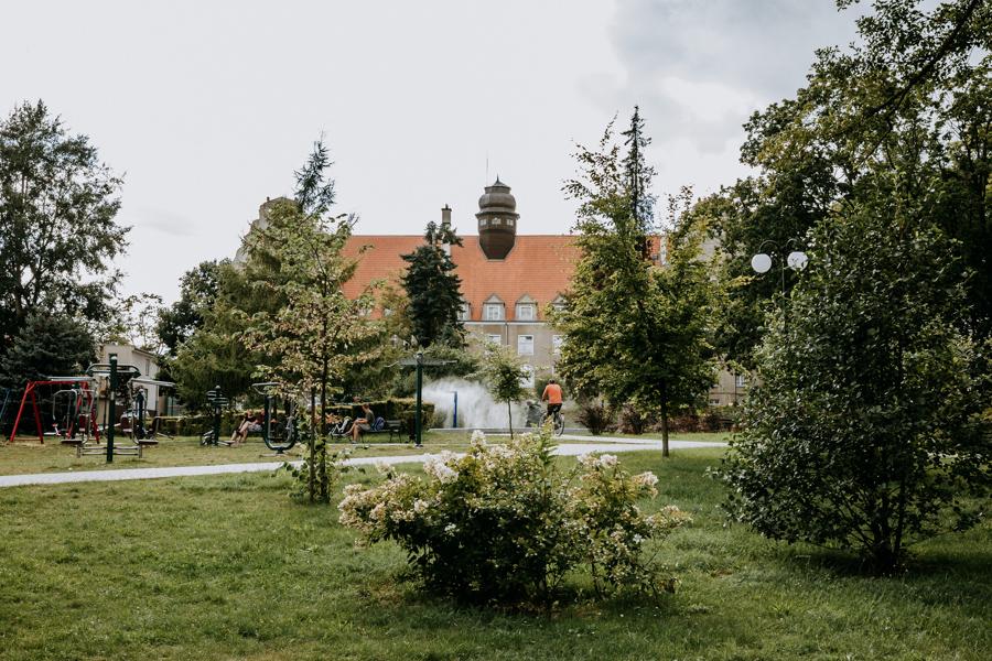 Park Lotników Mrągowo