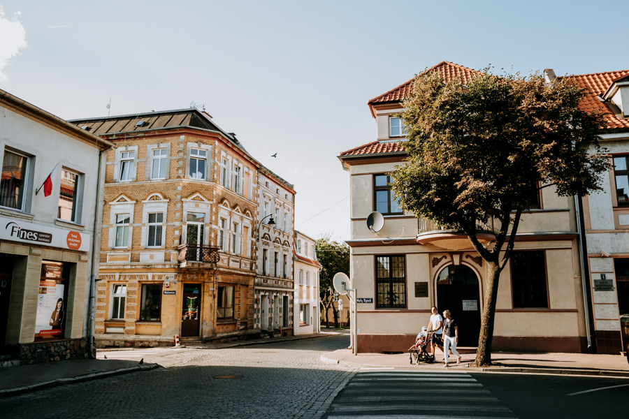 Old Town in Mragowo