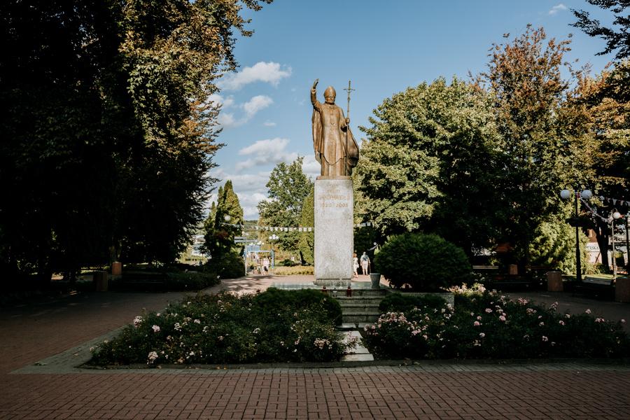 Monument of John Paul II, Mragowo