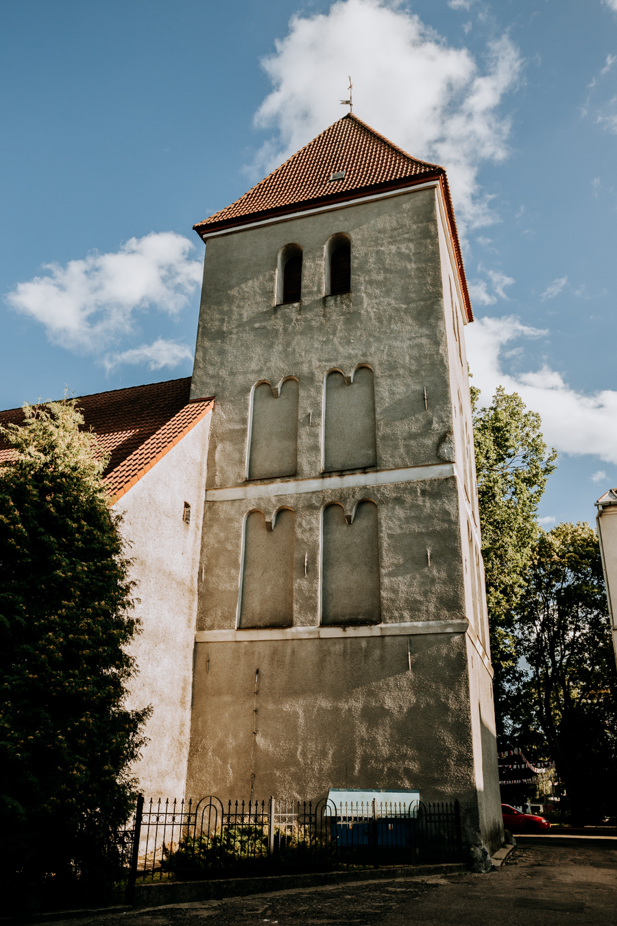 The Evangelical-Augsburg Church from the 18th century in Mragowo
