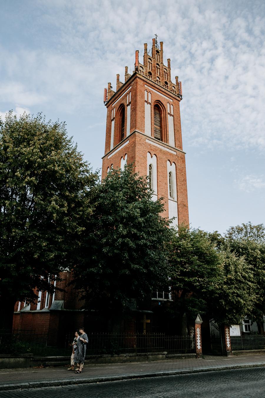 monuments Mragowo church