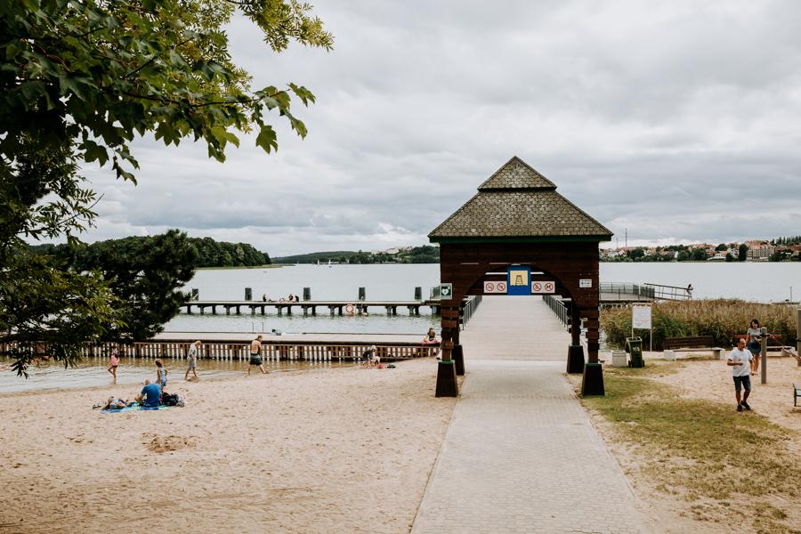 City beach Warmia and Mazury