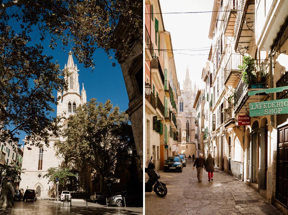 Palma de Mallorca streets
