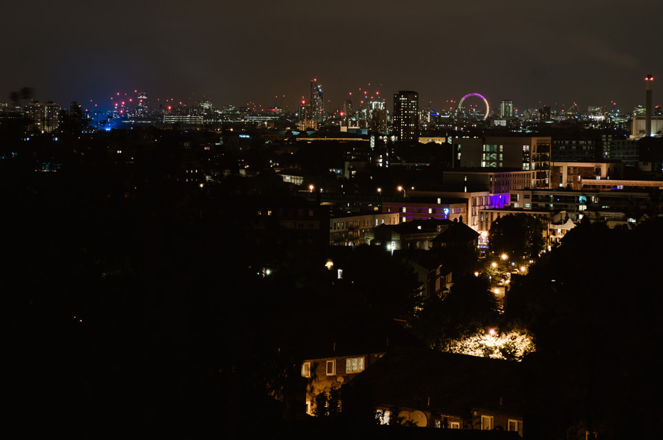 London, panorama of the city