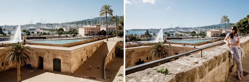 Palma de Mallorca- plac przy katedrze