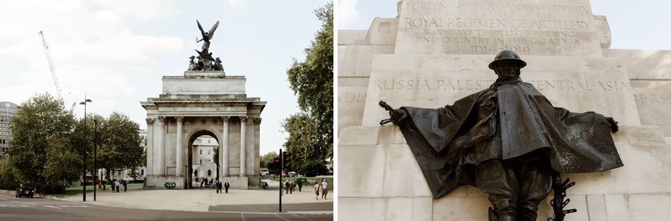 London, Wellington Arch