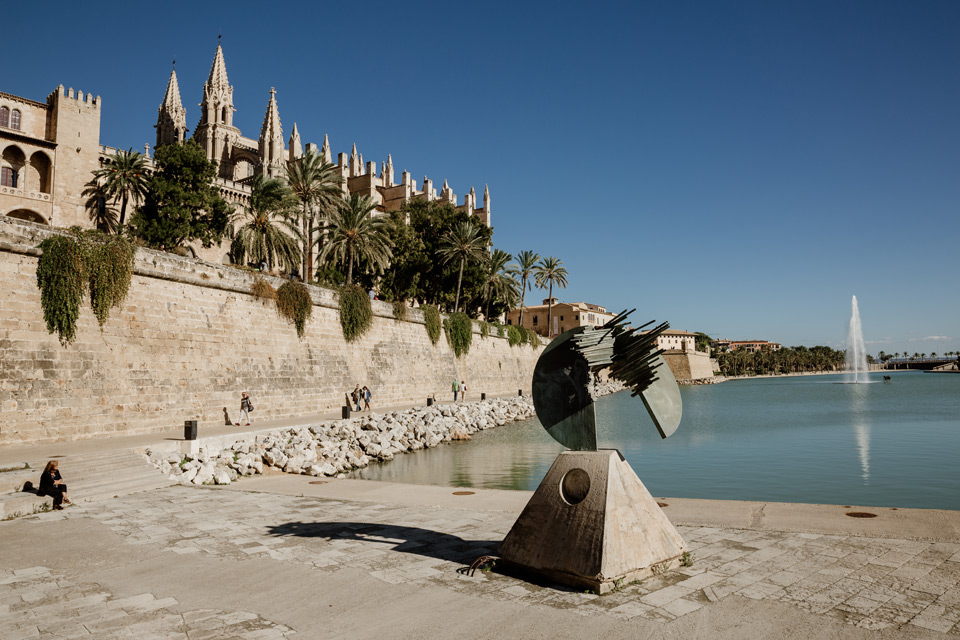 Palma de Mallorca- fontanna