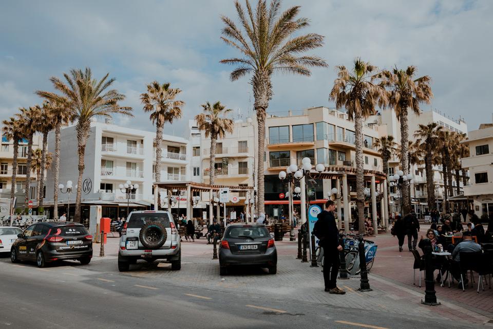Malta, Bugibba- centrum