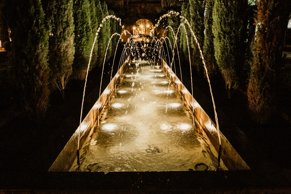 Palma de Mallorca- okolice katedry nocą