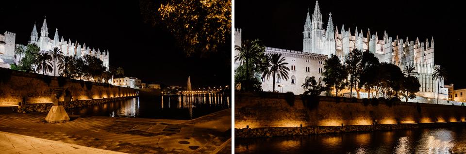 Palma de Mallorca- zdjęcia nocne