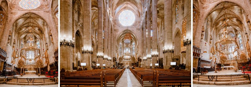 Palma de Mallorca- cathedral interior