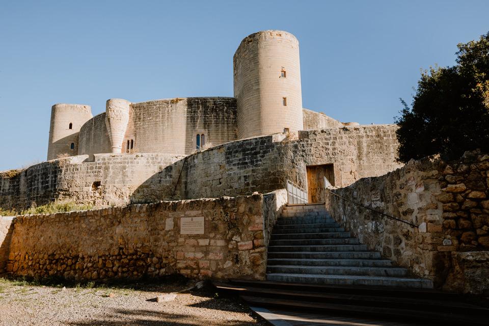 Palma de Mallorca- Castell de Bellver castle