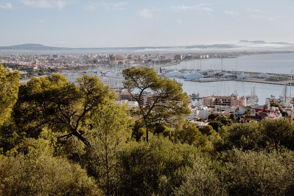 Palma de Mallorca- city panorama